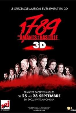1789 : Les amants de la Bastille (Pathé Live) (2013)