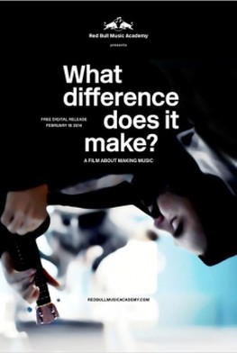 Red Bull Music Academy : What Difference Does It Make? (2014)