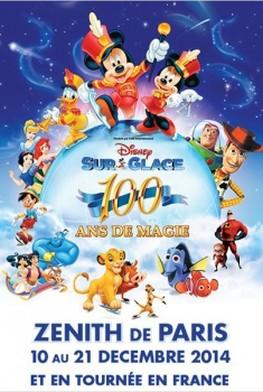 Disney sur Glace : 100 ans de Magie (2014)