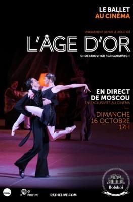 L'Âge d'or (Bolchoï - Pathé Live) (2016)