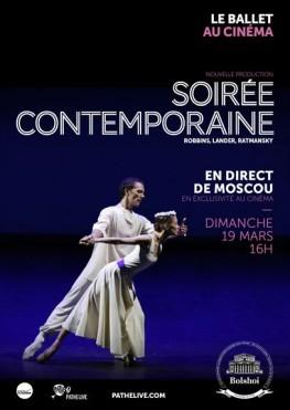 Soirée contemporaine (Bolchoï-Pathé Live) (2017)
