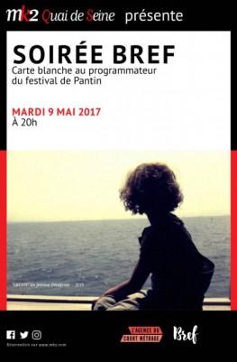 Soirée Bref - Carte blanche au programmateur du festival de Pantin (2016)