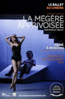 La Mégère apprivoisée (Bolchoï-Pathé Live) (2016)