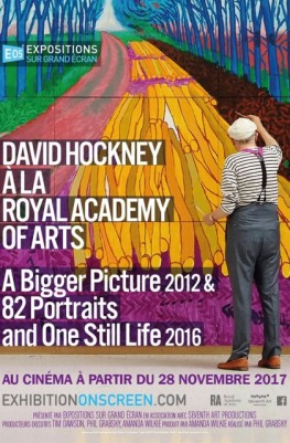 David Hockney à la Royal Academy of Arts : A Bigger Picture 2012 & 82 Portraits and One Still Life 2016 (2017)