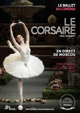 Le Corsaire (Bolchoï-Pathé Live) (2017)