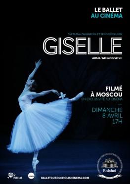 Giselle (Bolchoï-Pathé live) (2018)