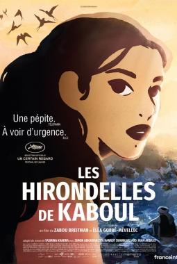 Les Hirondelles de Kaboul (2019)